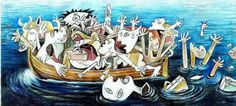 English Aegean Guernica: In the Spanish painter Pablo Picasso express his detestation for fascism and Franco's regime by painting Guernica. In the Bulgarian cartoonist Jovcho Sav… Pablo Picasso, Picasso Guernica, Street Art, Artist Point, Head In The Sand, Spanish Art, Spanish Class, Spanish Painters, Political Cartoons