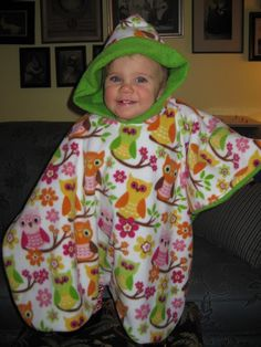 carseat poncho: