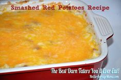 Smashed Red Potatoes recipe