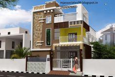 In Uttam Nagar, Near By Uttam Nagar West Metro Station , _Hall, 9899909899 House Outside Design, House Gate Design, House Front Design, Balcony Design, Modern House Design, Building Elevation, House Elevation, Home Building Design, Building A House