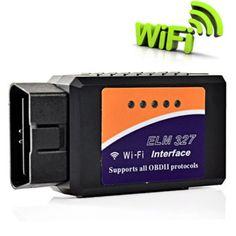 2017 جودة عالية elm327 wifi ماسحة السيارات obd2 أداة تشخيص elm 327 wifi obdii ماسحة v 1.5 لاسلكي لكلا الروبوت ios