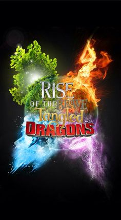 Rise of the brave tangled dragons