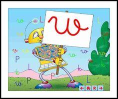 TIC leo-con-alex-letra-w.    http://mercedariasinfantil.blogspot.com.es/2013/01/leo-con-alex-letra-w.html