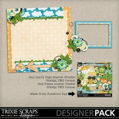 Sunshine Day Sampler by @TrixieScraps Designs - It is FREE @MyMemories.com