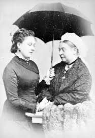 princess beatrice & queen victoria