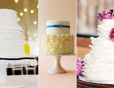 Ruffled Cakes   15 Hot Wedding Cake Trends   https://www.theknot.com/content/wedding-cake-trends