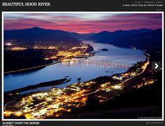 Where I grew up. Hood River, Oregon