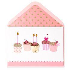 Fabulous Handmade Birthday Cupcakes Price 795