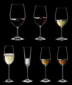 El efecto de las copas sobre el vino a la cata.