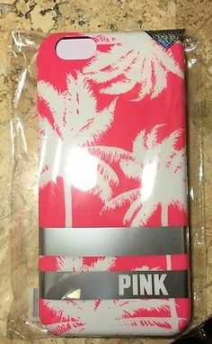 Victoria's Secret Pink Case For iPhone 6 Pink Palm Tree