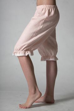 Pure Linen Bloomers for  Woman