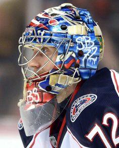 Best goalie masks of 2013 NHL season Nhl Season, Hockey Season, Hockey Goalie, Hockey Players, Ice Hockey, Fox Sports, Sports Stars, Sports Baby, Goalie Mask