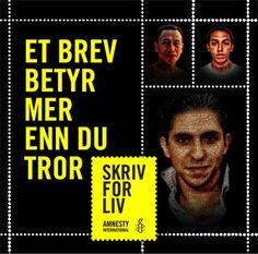 Sign to free Raif Badawi   Amnesty International