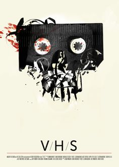 Take a shot on the grab bag horror anthologies, V/H/S 1 & 2 #vhs