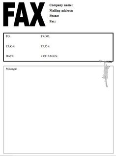 Fax Cover Letter In Pdf Sheet Templates Sample Basic Professional