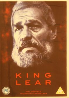 King Lear (1971) Stars: Paul Scofield, Irene Worth, Cyril Cusack ~  Director: Peter Brook (Won NBR Award for Top Ten Films of 1974)