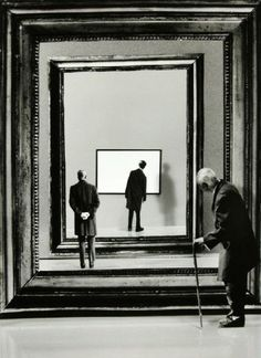 artnet Galleries: Flash Back by Gilbert Garcin from Stephen Bulger Gallery