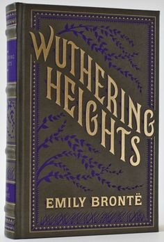 Wuthering Heights - Emily Bronte Book design by Jessica Hische Books And Tea, I Love Books, Good Books, Books To Read, My Books, Best Books Of All Time, Reading Books, Library Books, Emily Bronte