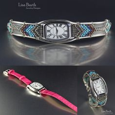 I wove this new watch band for an old watch and I think it really changed the look of it.  - Lisa Barth