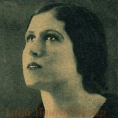 Lilly Murad famous Egyptian singer and actress 1918 - 1995