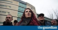 Video shows group's deputy leader Jayda Fransen making an address while wearing red robes and sitting in lord mayor's chair Flight 93, Right Wing, Belfast, Investigations, Britain, Kicks, Lord, Group, Chair