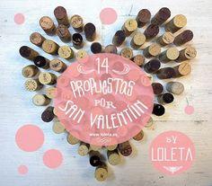 14 Propuestas de Maridajes & Recetas por San Valentín. Especial by Loleta.es