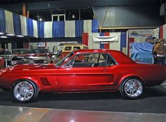1967 Ford Mustang Built by GT Motorsports Hits the Car Show Circuit