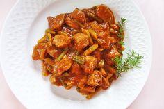 Paleo, Pork, Ethnic Recipes, Sweet, Zucchini, Goulash Recipes, Stew, Eat Lunch, Kale Stir Fry