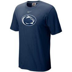 new style 47e94 8ac71 Nike Penn State Nittany Lions Classic Logo T-shirt - Navy Blue   PennStateNittanyLions Nittany