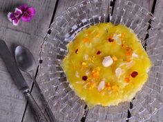 Receta   Arroz con naranja almendras y flores - canalcocina.es