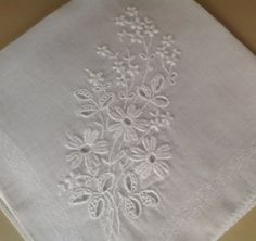 Vintage handkerchief  Ideal for special by Tedsandtreasures
