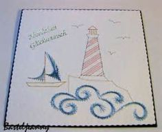 Sailing – forum gallery stitching card of the week