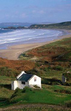 """tracknumber-6: """"myinnerlandscape: """"White Park Bay, Ireland via we traveller """" """""""