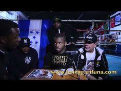 Entrevista Con Boxeador Garifuna Americano EDDIE GOMEZ Con TV Hondureno-MARTES 27 de Noviembre 2012