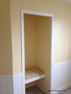 love this yellow wall color-Behr Pale Honey