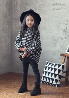 JK Kids Gingham Shirt