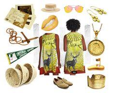 """Oh Mr. Sun Sun, Mister Golden Sun, Please shine down on me...."" by conrado-rafael-maleta on Polyvore featuring Tejido, Universal, Oxford, Topshop, Filù Hats, modern and vintage"