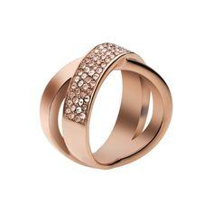 Ružový prsteň MICHAEL KORS so zirkónmi MKJ2869791 4053858059603 | MOLOKO