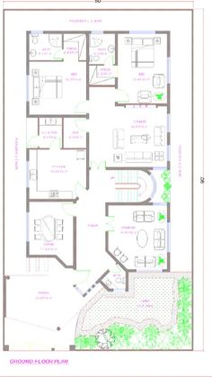 5 marla house design salam pinterest house indian 35x60 house plans