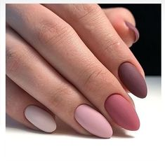 We deeply hope these 70 Most Gorgeous 😊 Almond Matte Nails Inspirational Arts. - - We deeply hope these 70 Most Gorgeous 😊 Almond Matte Nails Inspirational Arts be your favorite choice💞💅. We hope you love it and save it. Cute Acrylic Nails, Matte Nails, Fun Nails, Matte Almond Nails, Almond Nail Art, Gradient Nails, Shellac Nails, Acrylic Colors, Perfect Nails