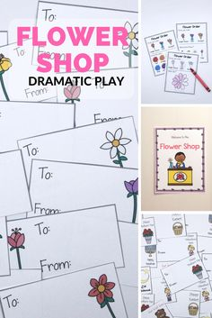 Free Dramatic Play Area Signs For Your Classroom Flower Shop