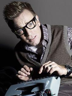 Ewan Mcgregor.  Yes hipster!