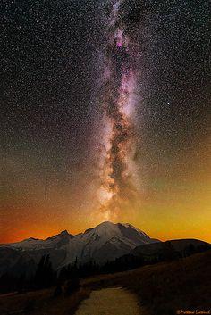 Mount Rainier Eruption! | by Matt Dieterich