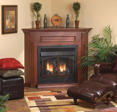 Wonderful Corner Gas Fireplaces