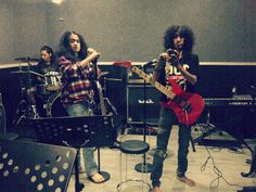 Eben Andreas rehearsal with GRIBS