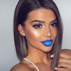 Tag a friend who loves bold lip color!@exteriorglam created this edgy ombre lip with our Liquid Suede Cream Lipsticks in 'Little Denim Dress' and 'Jet Set'  Give her a follow for more glam inspo! || #nyxcosmeticsnordics #sundayfunday #nyxprofessionalmakeup #regram