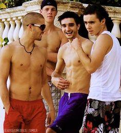 Max, Tom, and Nathan!