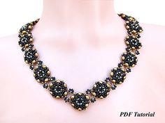 Necklace Pattern PDF Tutorial DIY Necklace Beaded Necklace