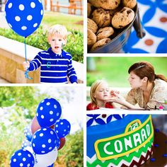 ManuelaS: Cookie Monster Theme Party  #cookie #monster #cake #party #birthday #boy #kid #ideas #diy #birthdayboy