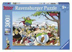 Ravensburger puzzle - asterix & obelix : the gauls attack! (300 τεμ.)